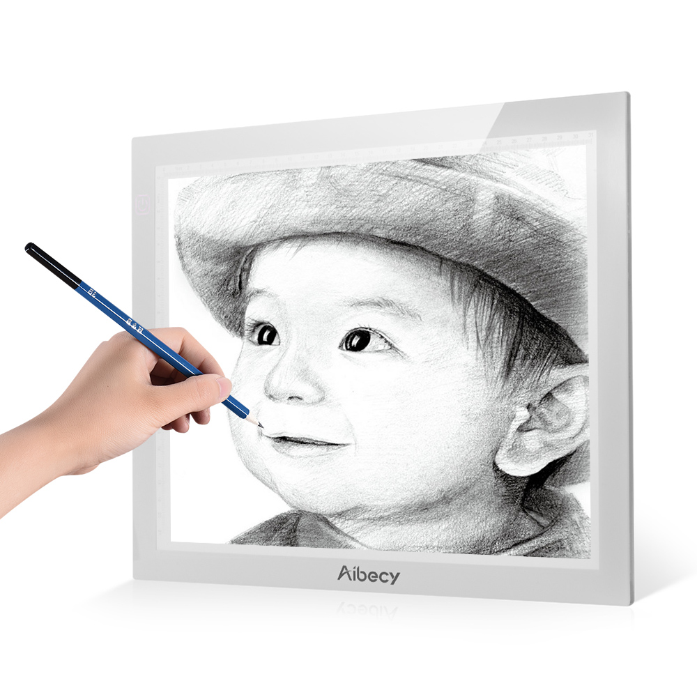 A4 Ultra-thin Portable Led Light Box Tracer 3 Level Brightness Control Light Pad Led Artcraft Tracing Digital Tablet For Drawing Activating Blood Circulation And Strengthening Sinews And Bones