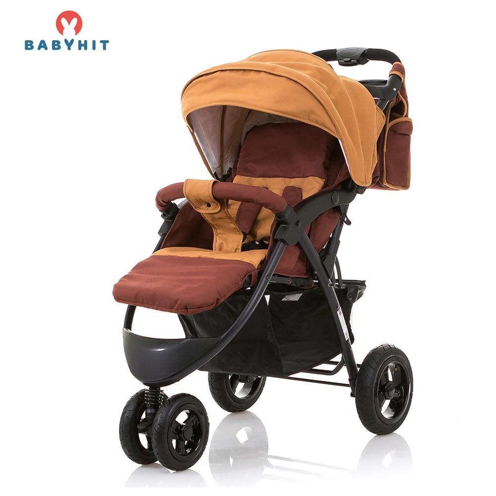 Lightweight Stroller BABYHIT VOYAGE AIR Ivory for boys and girls children baby strollers