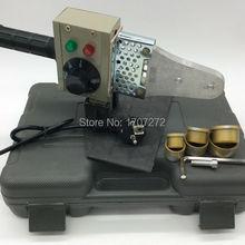 Горячая температурный контроль PPR сварочный аппарат, ПВХ сварочный аппарат переменного тока 220 В 600 Вт 20-32 мм машина для пластиковых труб