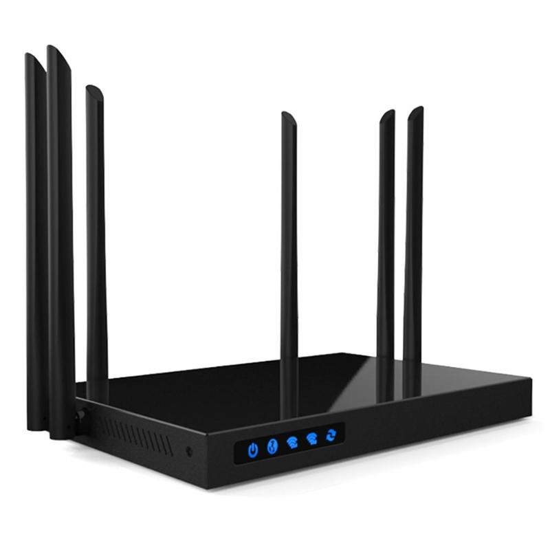 Nouveau 1750 Mbps AC WIFI Routeur COMFAST 2.4G + 5.8G Enginering AC Gérer routeur 1Wan 4Lan 802.11ac accès point wi fi routeur WRT Ouverte