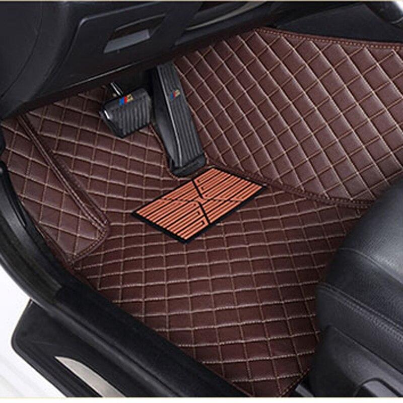 ChiTu personnalisé de voiture tapis de sol pour MINI Clubman Convertible Cooper Countryman Cooper S 4 porte 2 3D voiture-style de voiture en cuir tapis