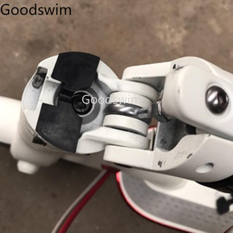 XIAOMI MIJIA M365 электрический скутер передняя вилка Демпфирование резиновая прокладка вибрации трясти избежать Складная Подушка самокат XIAOMI Запчасти