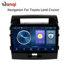 10,1 дюймов Android 8,1 автомобильный DVD gps для Toyota land cruiser 2007-2012 навигационная система стереорадио видео Bluetooth