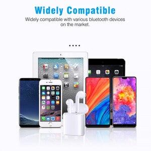 Image 5 - 새로운 i9s tws 미니 블루투스 이어폰 스테레오 이어폰 무선 이어폰 헤드셋 아이폰 안드로이드에 대한 무선
