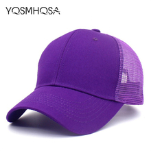 цены Summer Black Mesh Hats Baseball Cap Women Bones Canada Cap Snapback Gorra Cotton Baseball Hat Men Hip Hop Cap Baseball  WH103