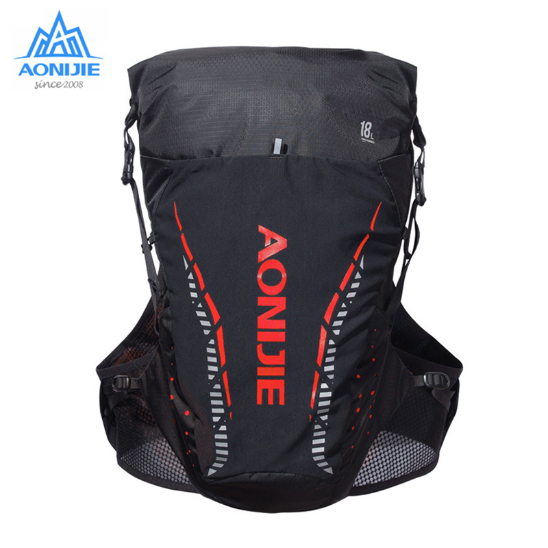 AONIJIE Outdoor Sport Bag Trail Running Backpack Lightweight Hydration Rucksack Vest for 2LWater Bladder Hiking Camping