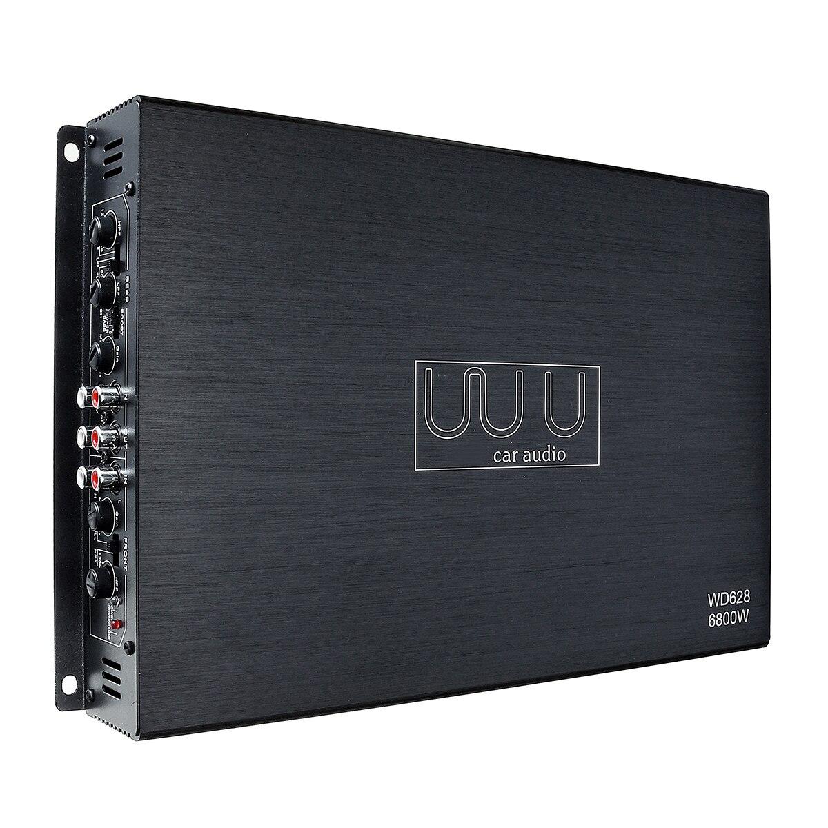 DC 12 V 6800 Watt 4 canaux amplificateur de voiture Audio stéréo haut-parleur de basse voiture amplificateurs Audio Subwoofer voiture amplificateurs Audio - 3
