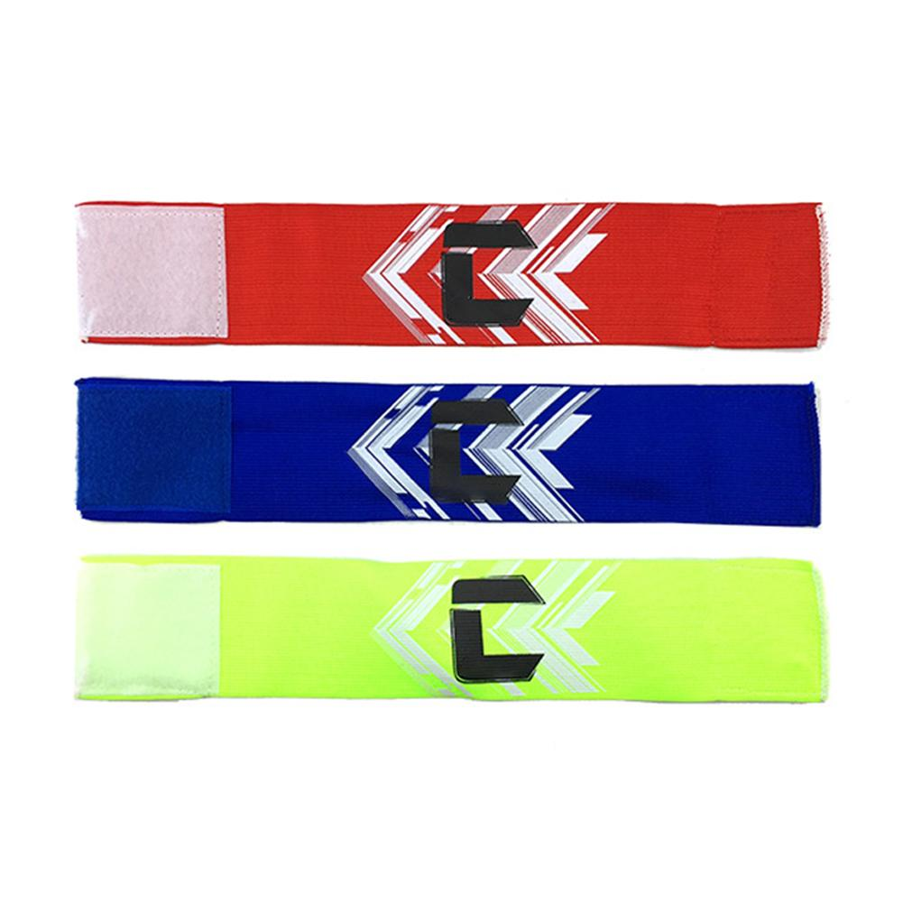 New Design Arm Band Leader Competition Football Captain Armband Soccer Captain Armband Group Armband Red Blue Green