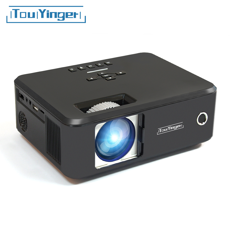 Touyinger everycom X20 Mini LED projektor LCD beamer unterstützung full hd video tragbare home cinema TV theater videoprojecteur 3D