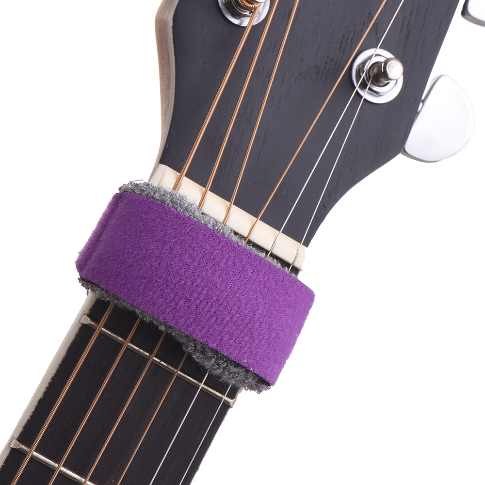 Guitar Strings Mute Muter Fretboard Muting Wraps for 7-string Acoustic Classic Guitars Bass