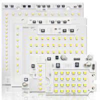 10 pçs/lote LEVOU CHIP SMD 10W 20W 30W 50W 100W AC220V com Smart IC 2835 SMD CHIP Para DIY lâmpada Ao Ar Livre Holofote