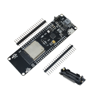 Image 2 - ESP8266 ESP32 ESP 32S Für WeMos WiFi Drahtlose Bluetooth Entwicklung Bord CP2102 CP2104 Modul Mit 18650 lithium Batterie Schild