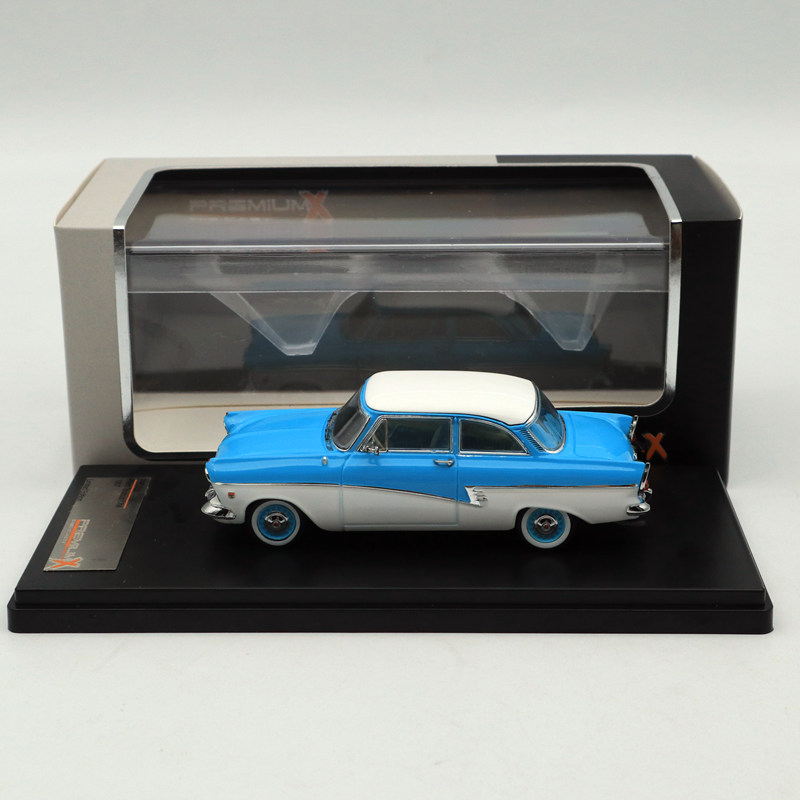 Premium X 1 43 FORD TAUNUS 17M 1957 blue PRD388 Diecast Models Car Limited Edition Collection