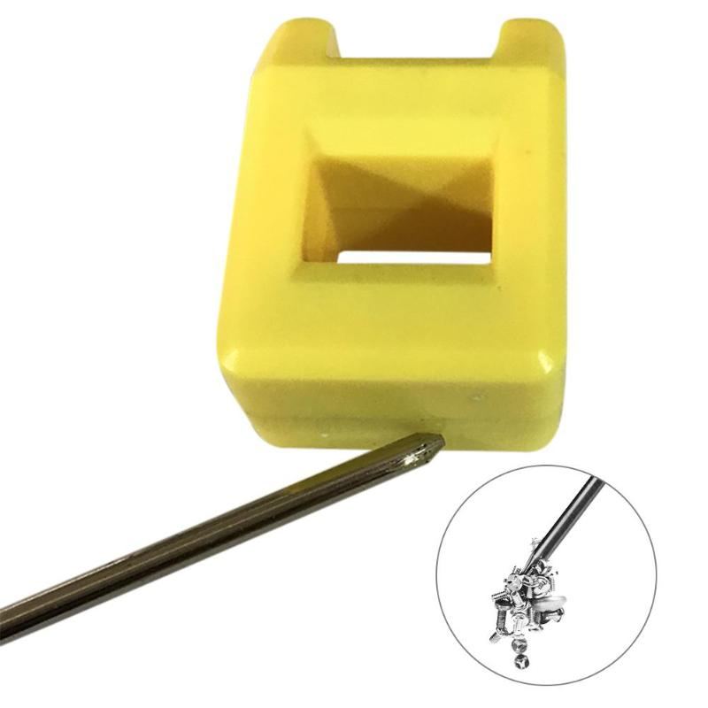 Magnetizer Demagnetizer 2 In 1 Tool Screwdriver Bench Bits Gadget Handy Magnetic Pick Up Screw Small Part Magnetized Repair Tool