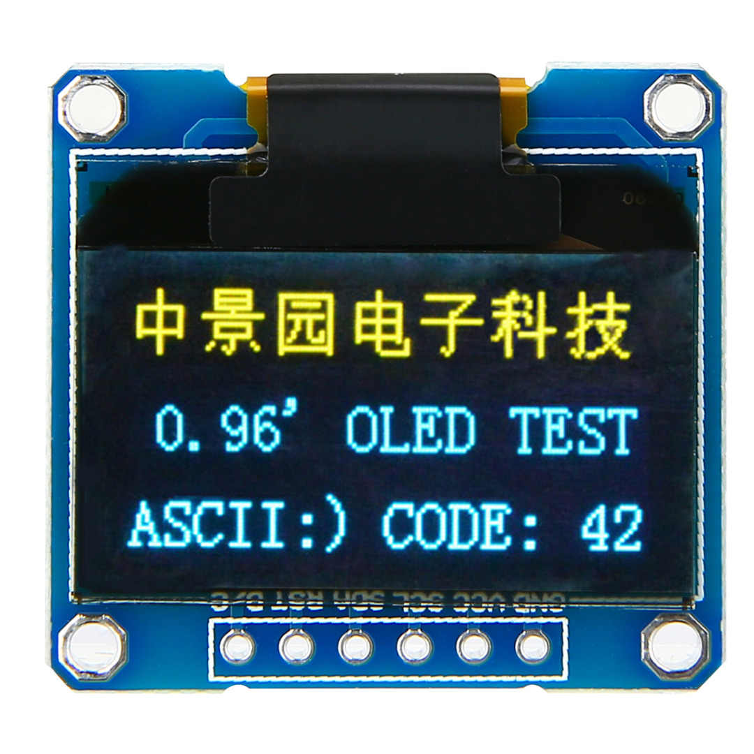 """1 шт. 0,96 """"128X64 O светодиодный дисплей модуль 4 контакта I2C IIC Серийный ЖК светодиодный SSD дисплей модуль SSD1306 Запчасти для электрооборудования"""