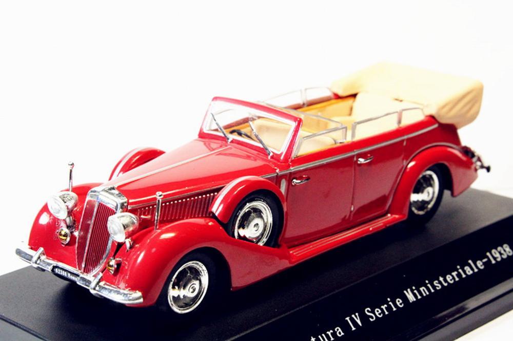 1:43 Starline Lancia Astura Ministeriale IV Serie 1938 RED Diecast Model