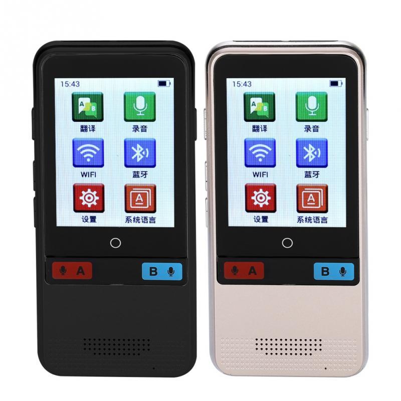 2,4 ''touch Screen Tragbare Smart Dolmetscher Echtzeit Mehrsprachige Stimme Übersetzer Kein Lärm Preisnachlass
