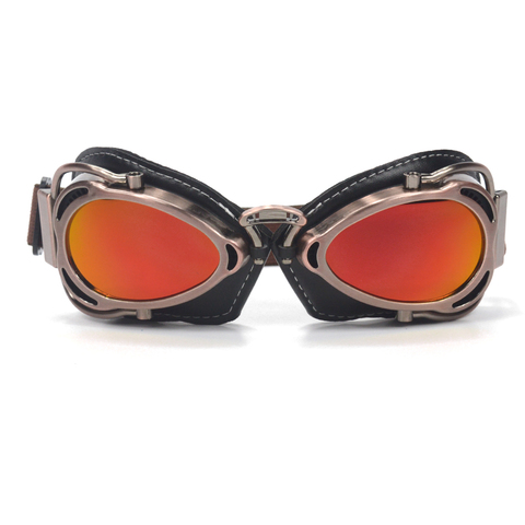 evomosa Universal Goggles For Motorcycle Riding Racing Cycling Scooter Chopper Cruiser Cafe Racer Helmet Goggles Sunglasses New Lahore