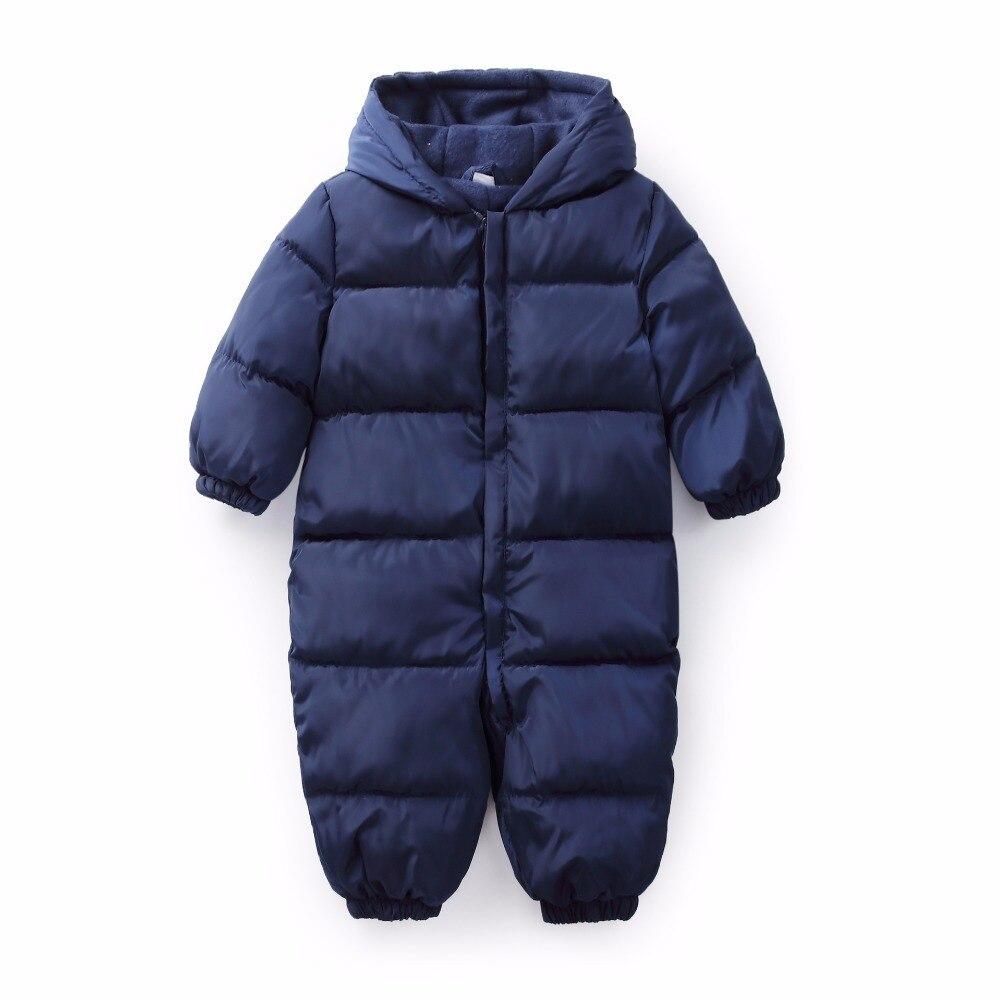 5ecba8208c7f Snowsuit Baby Snow Wear Cotton Warm Outerwear Coat Overalls Romper ...