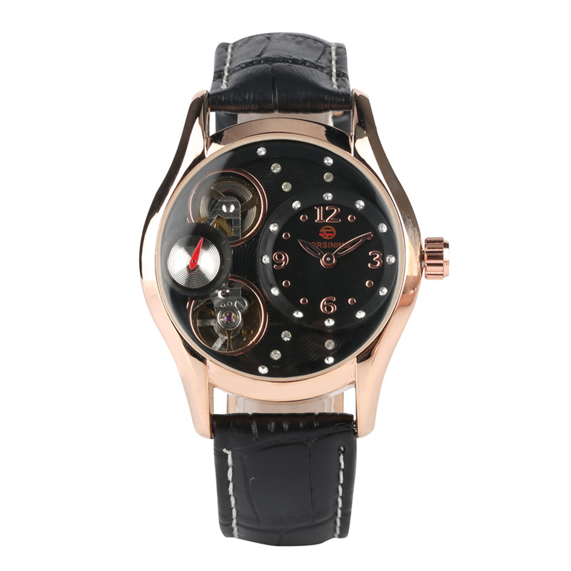 Relogio Masculino Mechanical Watch Movement Delicate Leather Mechanical Watches for Women Stylish Mechanic Watch for LadyRelogio Masculino Mechanical Watch Movement Delicate Leather Mechanical Watches for Women Stylish Mechanic Watch for Lady
