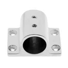 Marine Stainless Steel Boat Hand Rail Fitting 1 Rectangle Stanchion Base Parts & Accessories Hardware