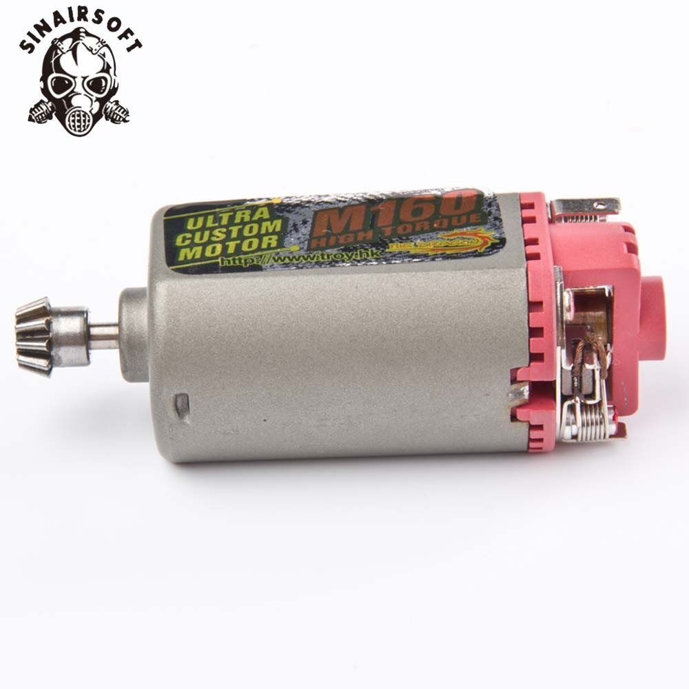 SINAIRSOFT Terminator M160 High Twist Type Speed Torque Motor Motor Short Axle AK Series Used for AEG Hunting AccessoriesSINAIRSOFT Terminator M160 High Twist Type Speed Torque Motor Motor Short Axle AK Series Used for AEG Hunting Accessories