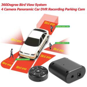 Image 5 - 360 Degree Car Parking Dash Cam Panoramic Auto Parking Bird View System 4 Camera Recording Cam Front Rear Left Right View Camera