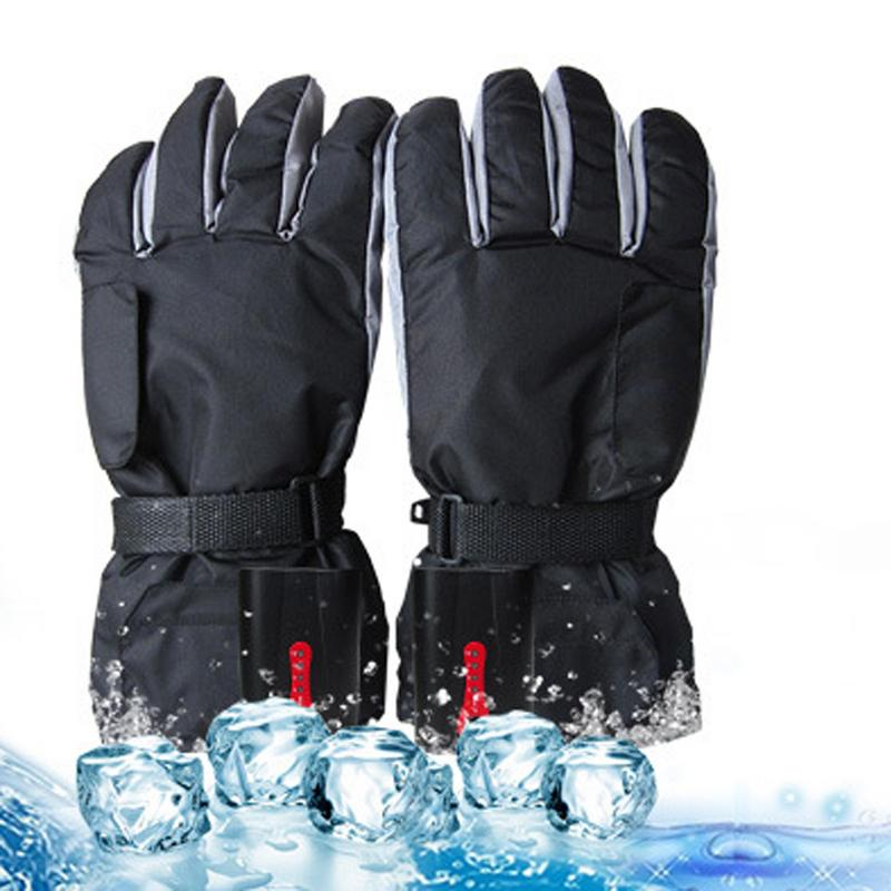 где купить Charging Electric Heating Gloves, Adjustable Temperature Electric Heating Gloves, Five-Finger Hand, Back, Hot Winter Heating Glo дешево