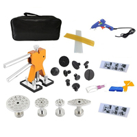 29pcs/1Set Car Dent Lifter Glue Puller Aluminium Alloy Tab 20W Glue Machine Bodywork Repair Tools Kit