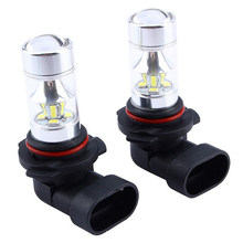 2pcs/set 9006 HB4 2835 SMD 60W LED High Light Fog/Driving Light Bulb White(China)