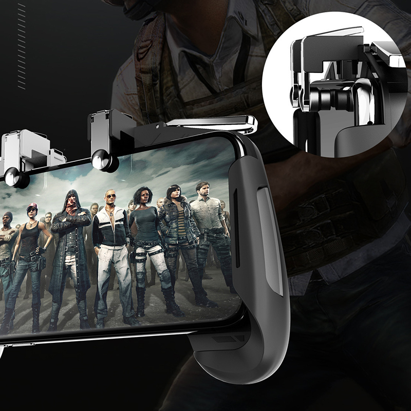New For Pubg Gamepad Cell Phone Mobile Control Joystick Gamer Android Game Pad L1R1 Controller Trigger For IPhone Xiaomi Huawei