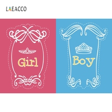 Laeacco Baby Girls Boy A Half Show Backdrop Photography Background Customized Photographic Backdrops For Photo Studio washable backdrops mysterious fairyland arcway fleece photography backdrop for studio photography background f 1491 a