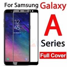 Samung A6 2018 Case Sansung A530 A600 A605 Protective Glass For Samsung Galaxy A5 A3 A7 2017 J6 A6 A8 Plus 2018 Full Film Cover цена и фото