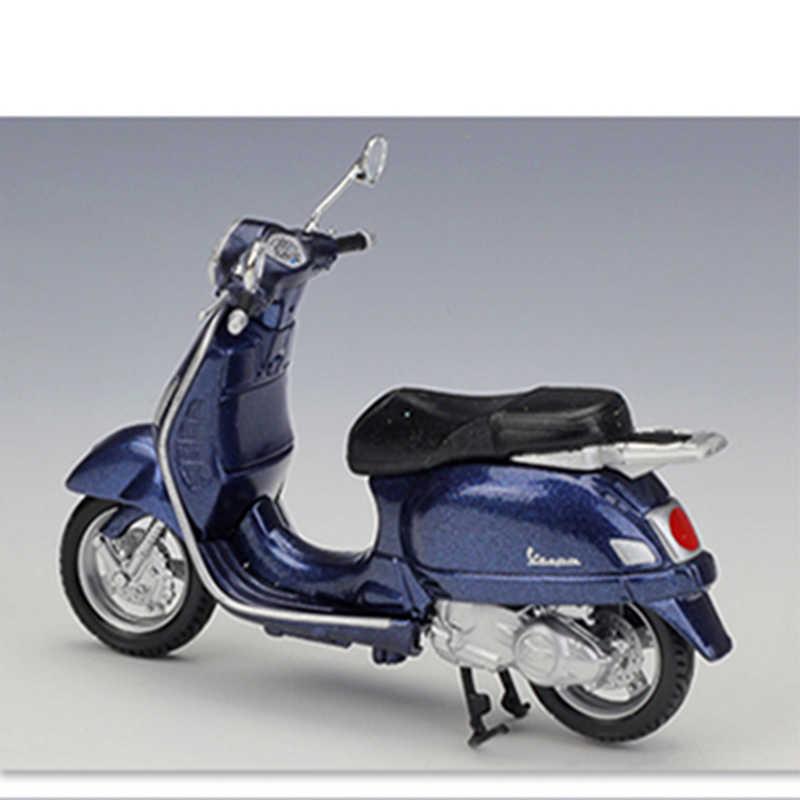 MAISTO 1:18 Vespa Granturismo (2003) Legering Diecast Motorbike Model Flexibele Roterende Wielen Speelgoed Voor Kinderen Geschenken Speelgoed Collectie