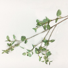 Simulated plant 4-forked eucalyptus leaf simulated Mongolian clover green planting