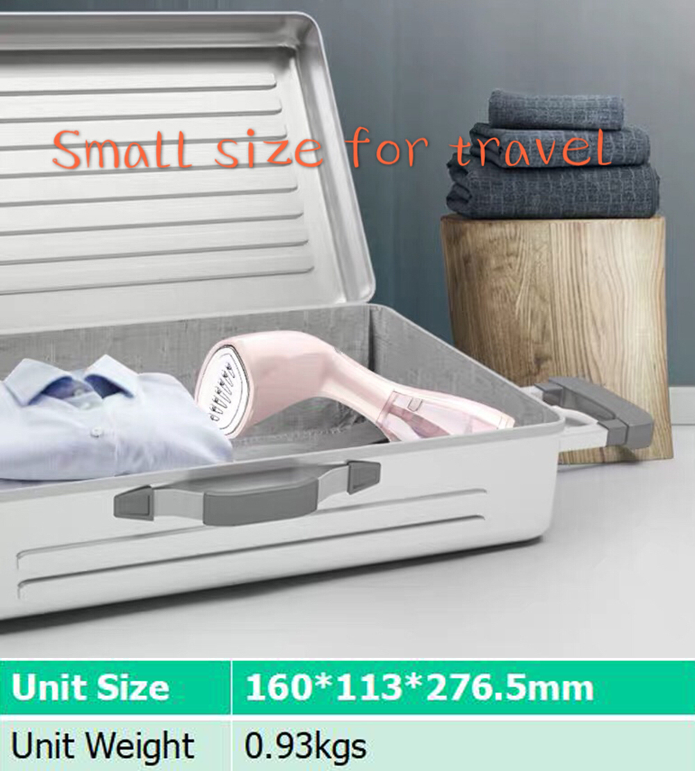 Image 4 - Handheld Mini Steam Iron Dry Cleaning Brush Clothes Household Appliance Portable Travel Garment Steamers Clothes electrodomestic-in Garment Steamers from Home Appliances