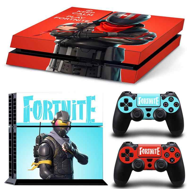 12type for ps4 controller and handle gamepad stickers waterproof for fortnite series decals support pattern customized - fortnite android ps4 controller support