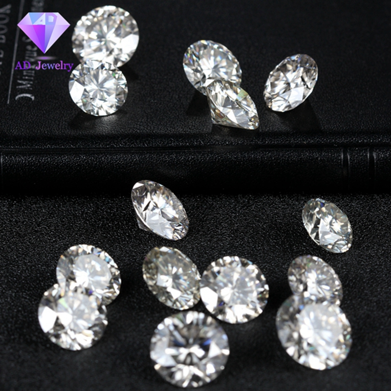 1 Carat /Bag GH color 1.00MM Moissanite Stone Loose Moissanite Diamond price per carat 1 Carat /Bag GH color 1.00MM Moissanite Stone Loose Moissanite Diamond price per carat