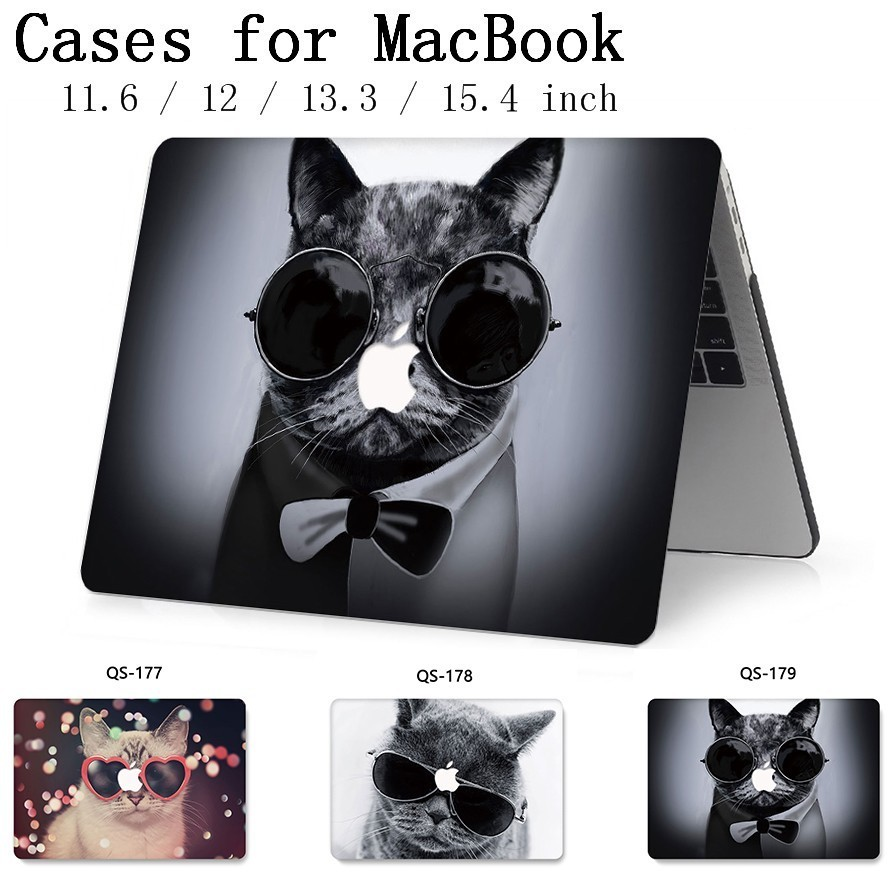 For Laptop Sleeve For Notebook MacBook 13.3 15.4 Inch Case For MacBook Air Pro Retina 11 12 With Screen Protector Keyboard Cove-in Laptop Bags & Cases from Computer & Office