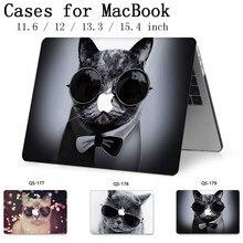 Pour pochette pour ordinateur portable pour ordinateur portable MacBook 13.3 15.4 pouces étui pour MacBook Air Pro Retina 11 12 avec écran protecteur clavier Cove