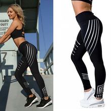 2019  Women Leggings Slim High Waist Elasticity Leggings Fitness Printing leggins Breathable Woman Pants Leggings