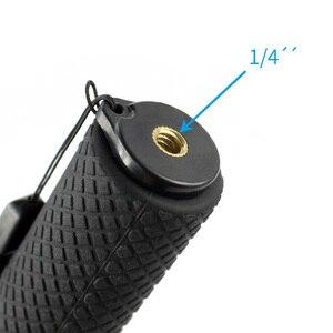 Image 5 - Удлинитель для селфи из алюминиевого сплава, стержень с винтом 1/4 для камеры Insta360 one X для спортивной камеры Gopro Xiaoyi EKEN