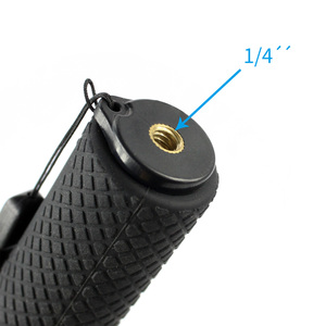 Image 5 - Aluminum Alloy Extension Selfie Stick Pole Rod with 1/4 Screw for Insta360 one X Camera for Gopro Xiaoyi EKEN Sport Camera