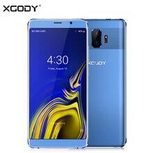 XGODY Y27 3G Çift Sim Smartphone Android 8.1 6 Inç 18:9 Tam Ekran Cep Telefonu Dört Çekirdekli 1 GB + 8 GB 2500 mAh WiFi 5MP Cep...