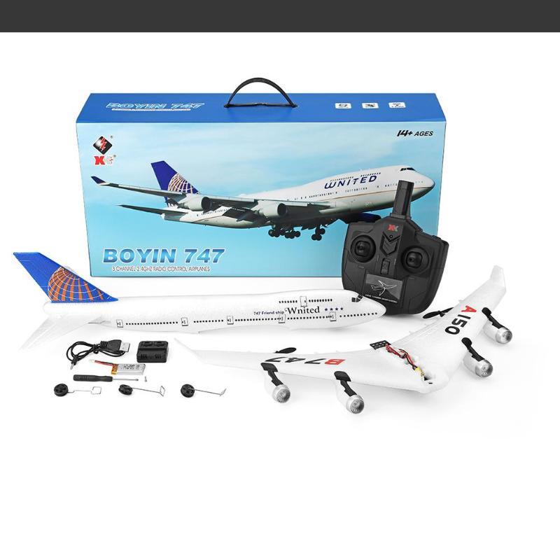 A150 Boeing B747 Aviation Model Three Channel Training Machine Kids ToyA150 Boeing B747 Aviation Model Three Channel Training Machine Kids Toy