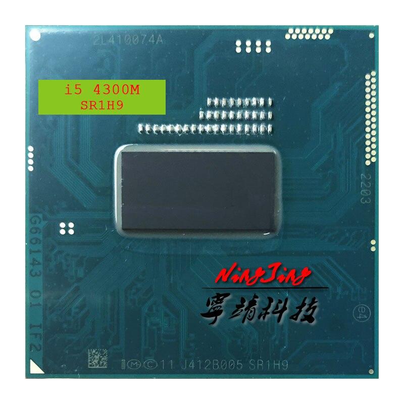 Intel Core i5 4300M SR1H9 i5 4300M 2 6 GHz Dual Core Quad Thread CPU Processor