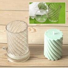 Форма для свечей, руководство по изготовлению свечей, спиральная форма, форма для свечей, восковые формы, инструменты для изготовления подарка «сделай сам», пластик 5*7,5/5*10,2 см