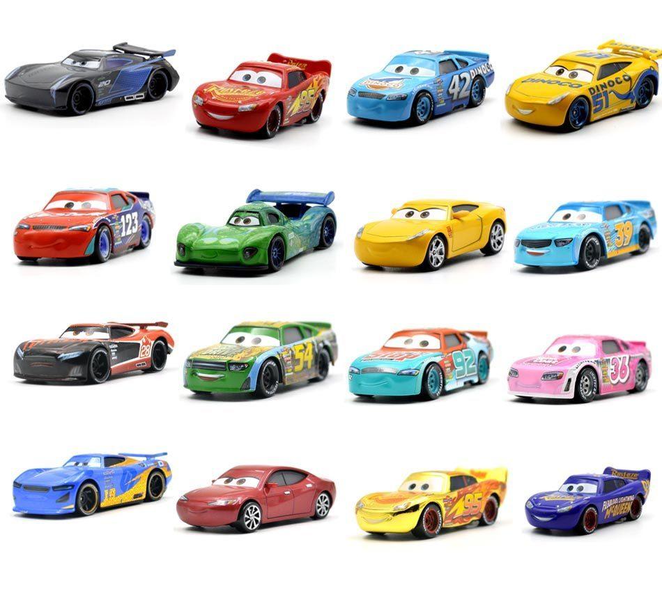 Disney Pixar Cars 3 27 Styles Lightning McQueen Mater Jackson Storm Ramirez 1:55