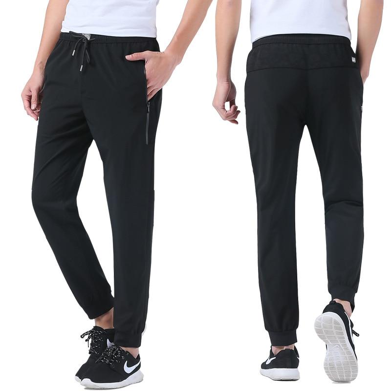 Streetwear Baggy Sprotting Pantalones largos Hombres Primavera Verano Hombre Pequeño Stretch Joggingg Pantalones Hombre L-5XL XXXXXL Plus tamaño