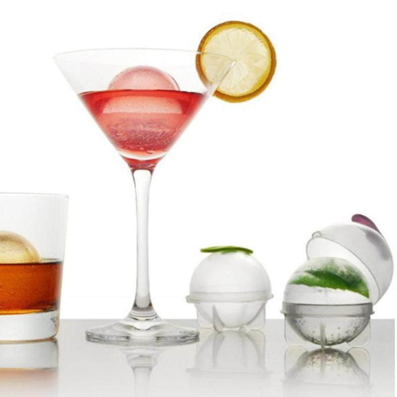 4.8 cm ball ice molds and ice tray for diy home bar party cocktail use